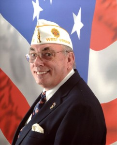 American Legion Department of West Virginia Commander Fred Buchanan